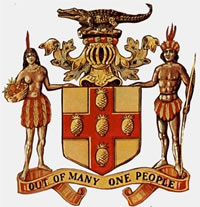 The Jamaican Coat of Arms